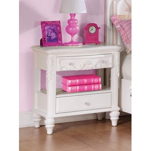 Whitney 2 Drawer Nightstand by Viv + Rae