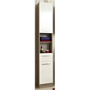 Rom 30 X 195.5cm Free Standing Tall Bathroom Cabinet By Quickset