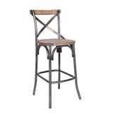 Oller Solid Wood 30 Bar Stool by Williston Forge