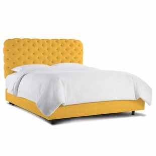 Headboards & Footboards Furniture Amiable Padded Velvet Grey Double Bed With Quality Mattress