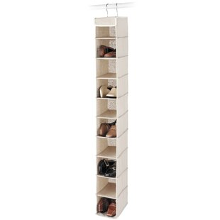 Best Price 10-Compartment Hanging Shoe Organizer (Set of 4) By Whitmor, Inc