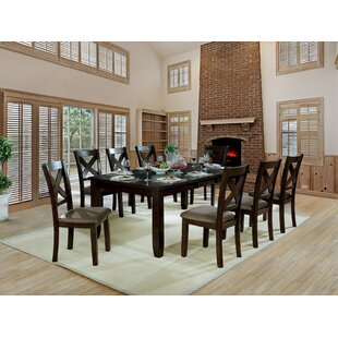Wegman 9 Piece Extendable Dining Set Andrew Home Studio