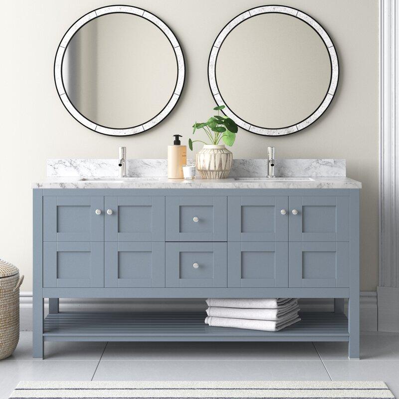 Rebeca 61 Double Bathroom Vanity Set Joss Main