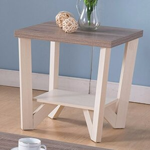 Arbor Lake Display Shelf End Table by Andover Mills