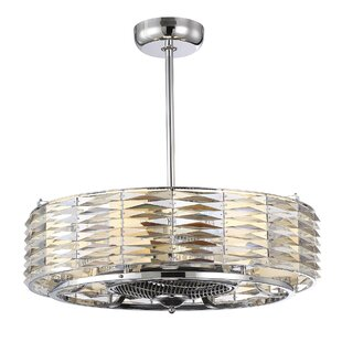 Willa Arlo Interiors Borja 6-Light Air Ionizing d'Lier Ceiling Fan