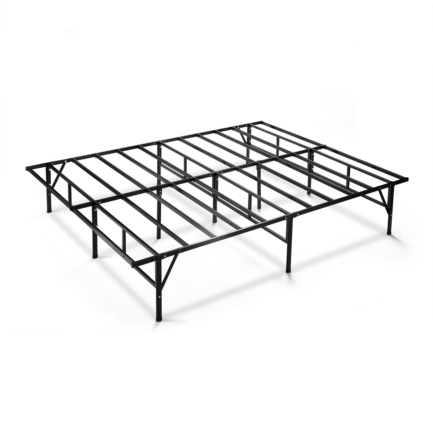 Alwyn Home Higbee Easy to Assemble Smartbase Bed Frame & Reviews ...