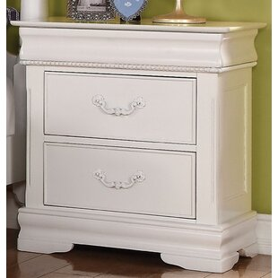 Affordable Ronda 2 Drawer Nightstand by Harriet Bee Reviews (2019) & Buyer's Guide