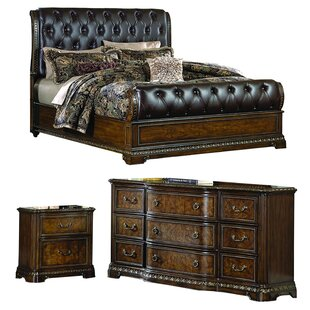 Brompton Lane Sleigh Configurable Bedroom Set by Homelegance