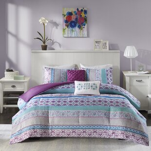 Fontenot Reversible Comforter Set by Bungalow Rose New Design
