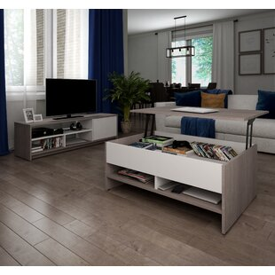 Affordable Frederick Coffee Table TV Stand for TVs up to 50 by Latitude Run Reviews (2019) & Buyer's Guide