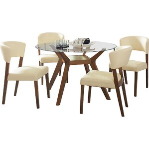 Sara 5 Piece Dining Set by Infini Furnishings