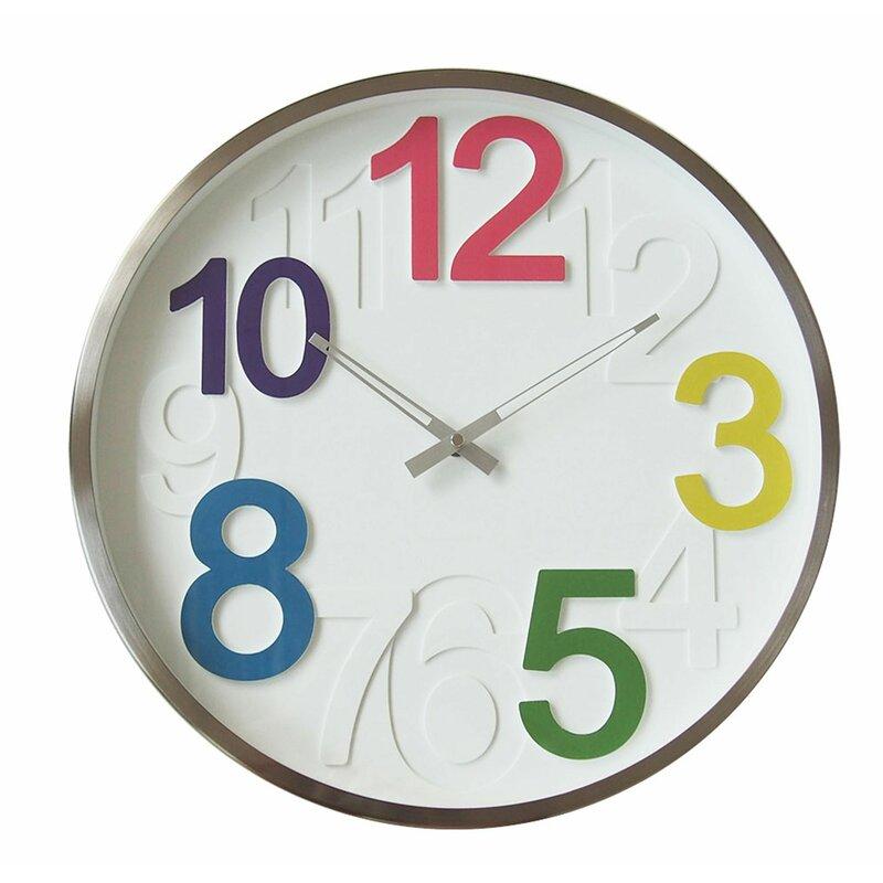 Isabelle Max Kolten 16 Wall Clock Wayfair