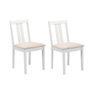 Review Brookvale Solid Wood Dining Chair (Set Of 2)
