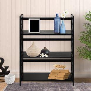 Northumberland 3-Shelf Standard Bookcase by Three Posts