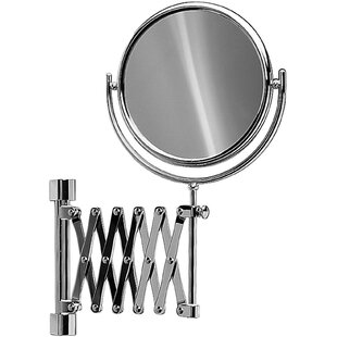 Check Prices Knap Double-Sided Extendable Makeup/Shaving Mirror By Symple Stuff