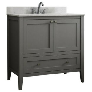 Vanguard 36 Single Bathroom Vanity Base Only By CNC Cabinetry