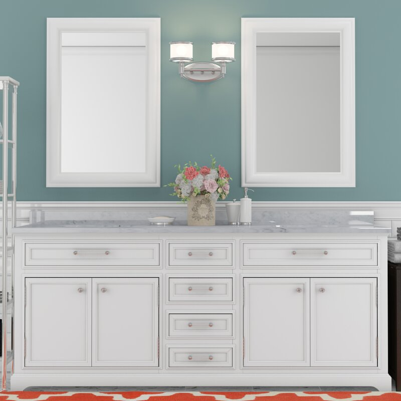 "darby home co colchester 72"" double sink bathroom vanity set"