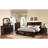 Milagro Sleigh Configrable bedroom set by Canora Grey