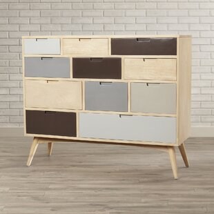 Brayden Studio Polen 11 Drawer Chest