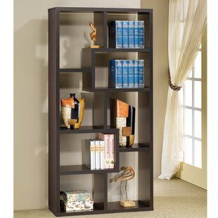 Cyril Multiple Rectangular Geometric Bookcase by Wrought Studio