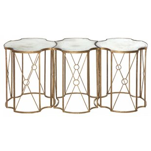 Aidan Gray Marlene 3 Piece Coffee Table