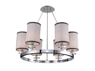 Rosdorf Park Mcdowell Glam 6-Light LED Shaded Chandelier