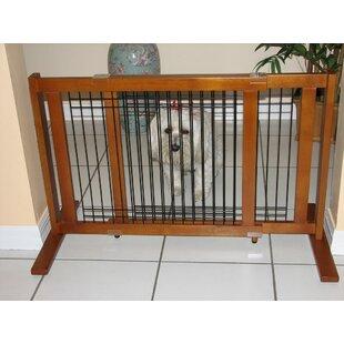 Freestanding Pet Gates You Ll Love Wayfair