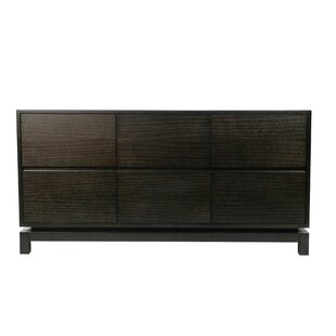 Nusa 6 Drawer Dresser by Indo Puri