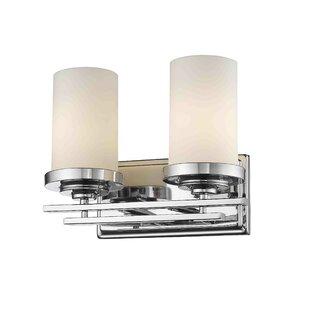 Capel 2-Light Vanity Light by Ebern Designs