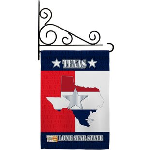 Metal Texas Flag Wayfair