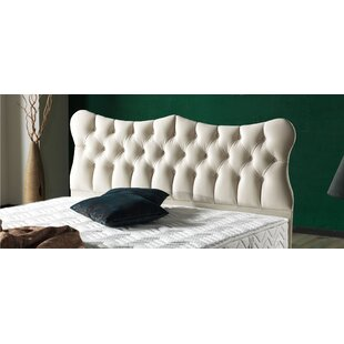 Pateros Queen Upholstered Wingback Heardboard by House of Hampton