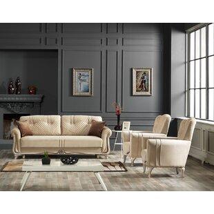 Hoehne 2 Piece Sleeper Living Room Set by Rosdorf Park