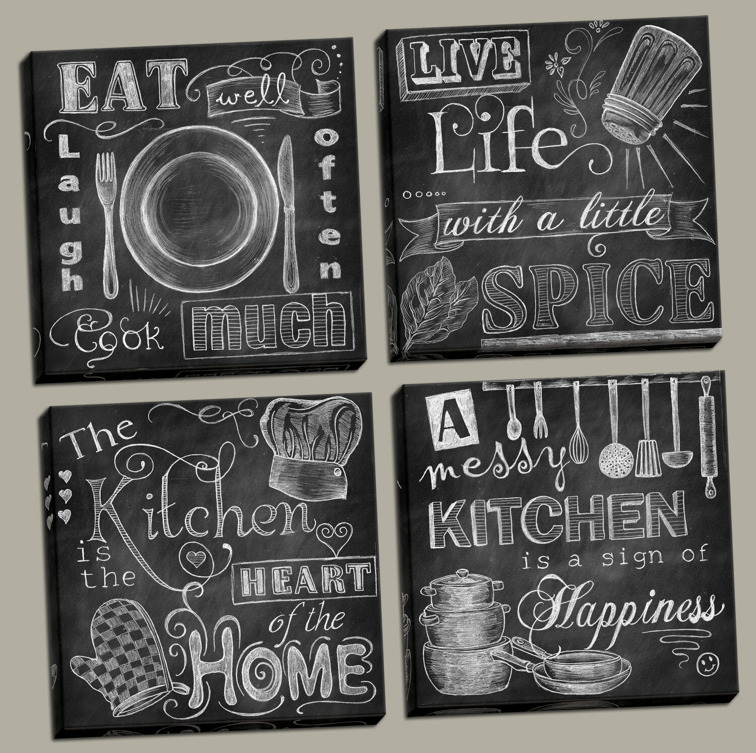 signs top for amazing wooden full household kitchen cooking present size him gifts of regarding custom decorate the