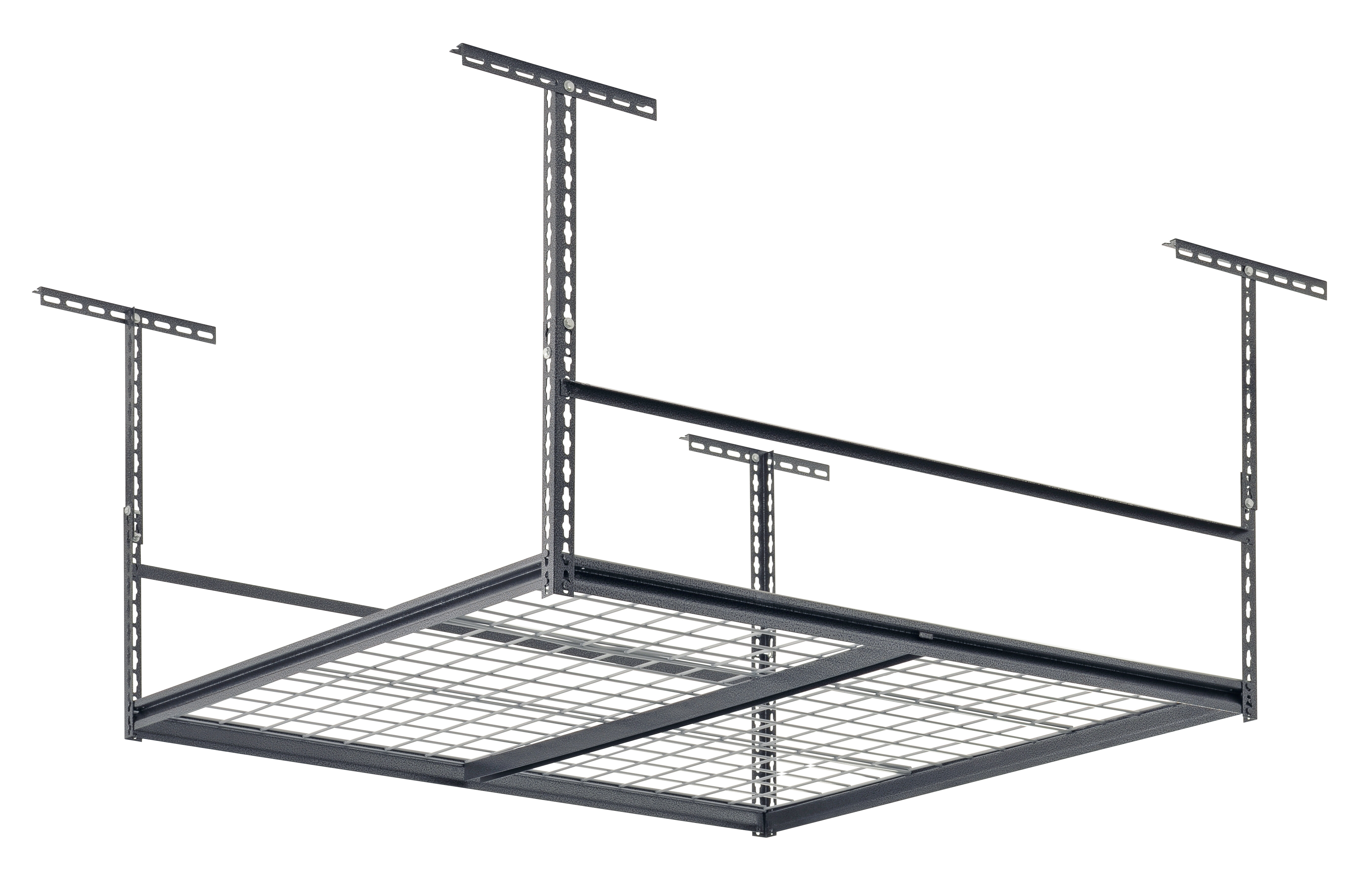 Sandusky Overhead Garage Adjustable Ceiling Storage Rack Reviews Wayfair