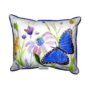 Lebron Morpho Outdoor Lumbar Pillow