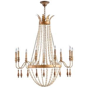 Alexandra 9-Light Candle-Style Chandelier