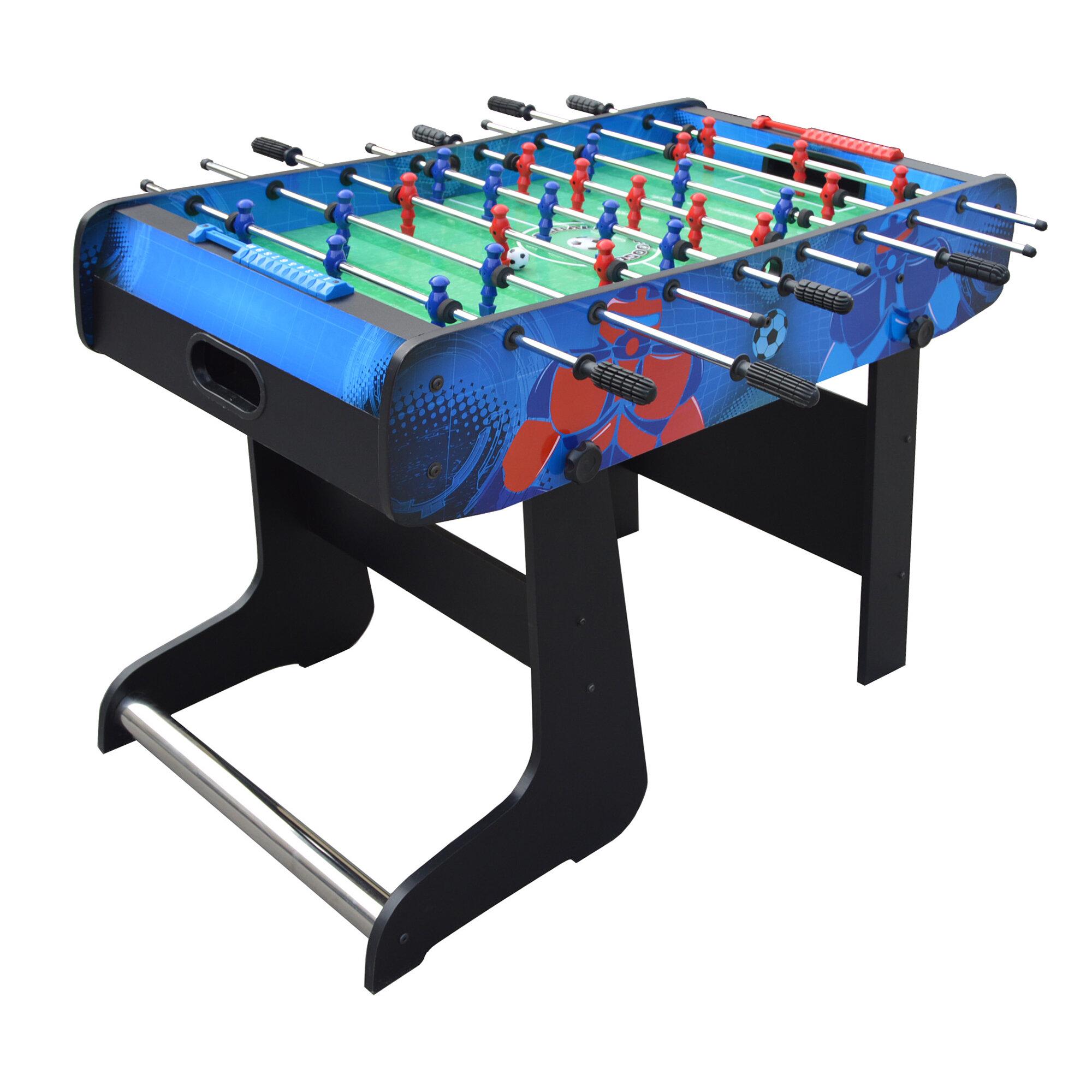 Hathaway Games Gladiator Folding Foosball Table Reviews Wayfair - Foosball table houston