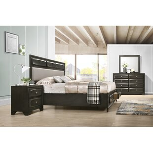 Beagan Platform 4 Piece Bedroom Set