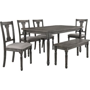 7 Piece Dining Set by Infini Furnishings Best Choices