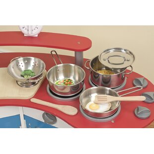 Read Reviews Let's Play House! 8 Piece Pot and Pan Play Set ByMelissa & Doug