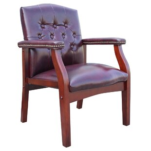 Charlton Home Berry Hill Leather Armchair
