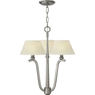 Latitude Run Priolo 3-Light Shaded Chandelier