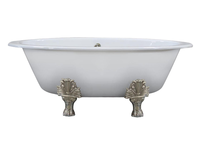 Extra Wide 65 X 35 Clawfoot Soaking Bathtub