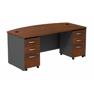 Series C Bow Executive Desk
