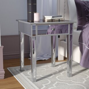 Kylie End Table With Stora..