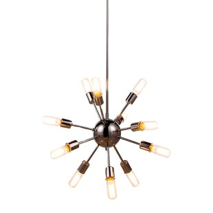 Corrigan Studio Ashe 12-Light Sputnik Chandelier