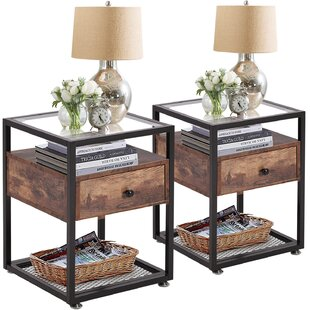 End Tables With Glass Tops Wayfair