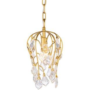House of Hampton Lakin 1-Light Crystal Pendant