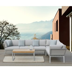 Conrad 5 Piece Sectional Set with Cushions