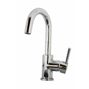 Virtu USA Lithios Single Hole Kitchen Faucet